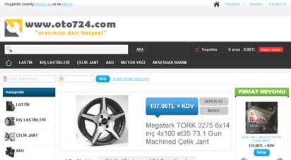oto724.com - oto724.com - oto lastik ve çelik jant modelleri motor yağı ve aksesuar çeşitleri uygun fiyatlar ve 12 ay taksit  oto724.com aracınız için herşey.