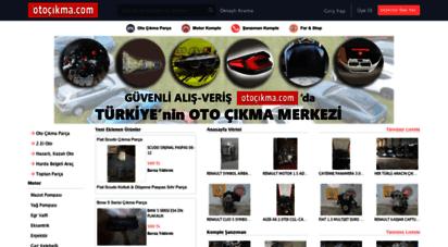 otocikma.com - türkiye´nin oto çıkma parça merkezi - otocikma.com