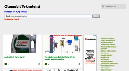 otomobilteknoloji.blogspot.com - otomobil teknolojisi