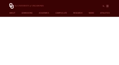 ou.edu - the university of oklahoma