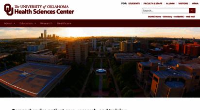 ouhsc.edu - the university of oklahoma health sciences center
