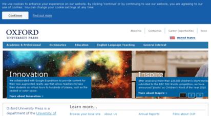 oup.com - oxford university press - homepage