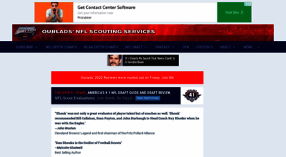 ourlads.com - nfl draft guide, mock drafts, news  ourlads´ nfl scouting services