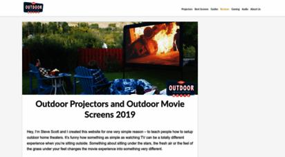 outdoormoviehq.com - outdoor movie hq - backyard movies and projector reviews