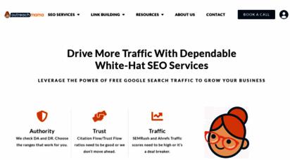 outreachmama.com - link building and blogger outreach services  outreachmama