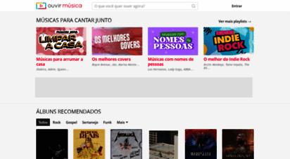 ouvirmusica.com.br - ouvir música - milhões de músicas e playlists incríveis
