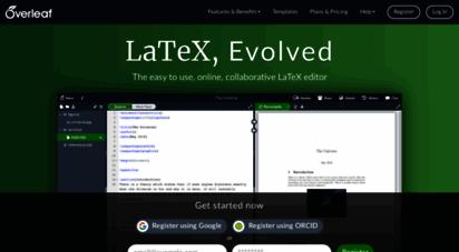overleaf.com - overleaf, online latex editor