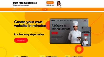own-free-website.com - create your website for free - 100 for free  own-free-website.com