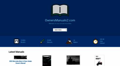ownersmanuals2.com - owner´s manuals