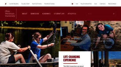 owu.edu - ohio wesleyan university