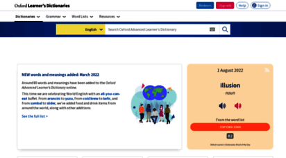 oxfordlearnersdictionaries.com - oxford learner´s dictionaries  find definitions, translations, and grammar explanations at oxford learner´s dictionaries