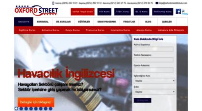 oxfordstreetdilokulu.com - bakırköy ve beşiktaş ingilizce kursu - ingilizce kursu
