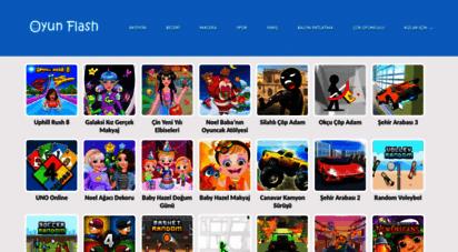 oyunflash.com - seçme güzel flash oyunlar,makyaj güzellik macera kız erkek çocuk oyunları sitesi