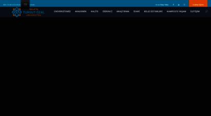 ozal.edu.tr - malatya turgut özal üniversitesi - bilim, emek, özveri…