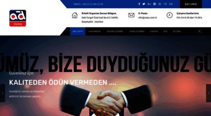 ozas.com.tr - özaş otomotiv