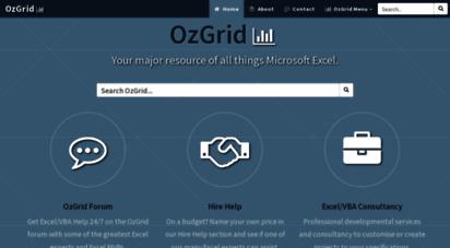 ozgrid.com - ozgrid.com - your major resource of all things microsoft excel