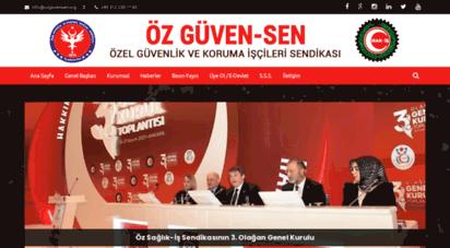 ozguvensen.org - öz güven-sen özel güvenlik ve koruma işçileri sendikası