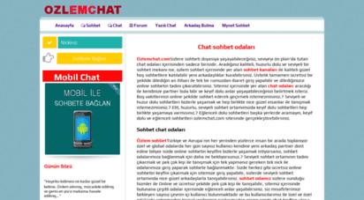 ozlemchat.com - ozlemchat.com - chat sohbet odaları mobil chat siteleri