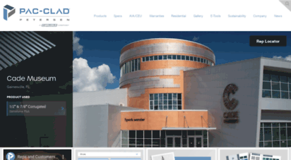 pac-clad.com - metal roofing  products for architectural walls and roofing  pac-clad