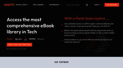 packtpub.com - packt  programming books, ebooks & videos for developers