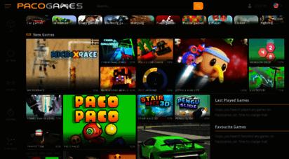 pacogames.com - play the best free online games  pacogames.com