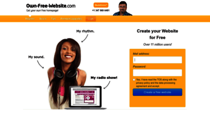 page.tl - create your website for free - 100 for free  own-free-website.com