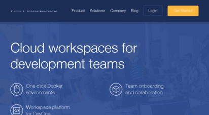Welcome to Forms codenvy com - Codenvy | Cloud Workspaces