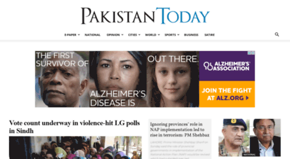 pakistantoday.com.pk - pakistan today  dedicated to telling the news like it is