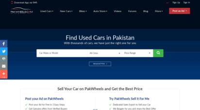 pakwheels.com - cars, used cars, new cars, latest car/gari prices and news  pakwheels