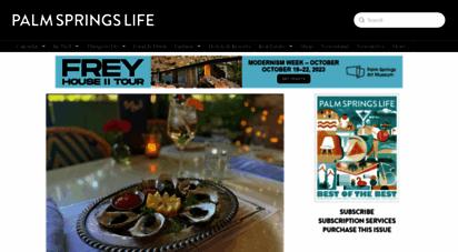 palmspringslife.com - palm springs life magazine  palm springs california
