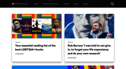 panmacmillan.com - pan macmillan - best selling fiction and non-fiction books, ebooks and audio books