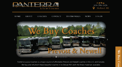 Welcome To Panterracoach Com Buy Prevost Coach Buy