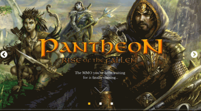pantheonmmo.com - pantheon - rise of the fallen - pantheon rise of the fallen, a new massively multiplayer online role playing game mmorpg in development bringing challenge back to the genre.