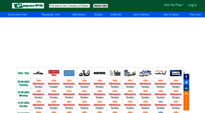 paperads.com - paperpk jobs 2020 in pakistan newspaper ads daily - latest job listings today on paperpk.com