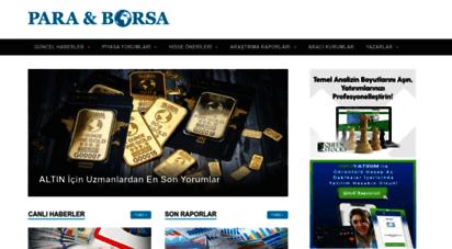 paraborsa.net - para & borsa