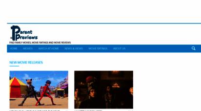 parentpreviews.com - parent previews  parents guide &amp movie ratings