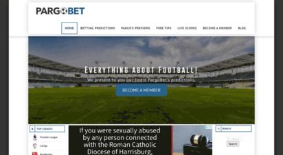 pargobet.com - betting, football & soccer predictions. all information! - pargobet