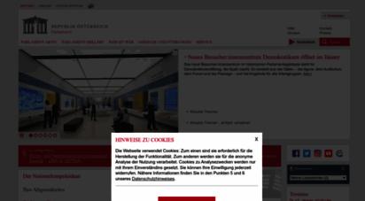 parlament.gv.at - österreichisches parlament