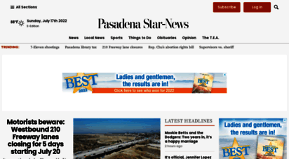 pasadenastarnews.com - the pasadena star-news: breaking news, sports, business, entertainment & pasadena news