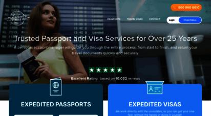 passportsandvisas.com - expedited passports and visas  express 24 hour rush service  passports and visas.com