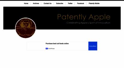 patentlyapple.com - patently apple
