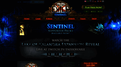 pathofexile.com - news - path of exile - a free online action rpg