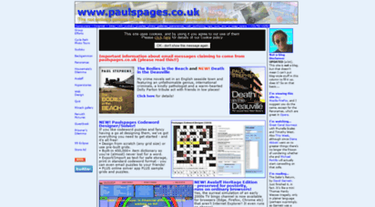 paulspages.co.uk - paulspages.co.uk from uk computer journalist paul stephens