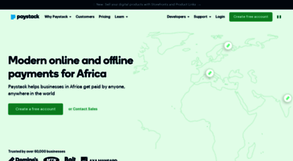 paystack.com - paystack - modern online and offline payments for africa