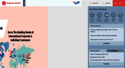 pbebank.com - public bank berhad - personal banking
