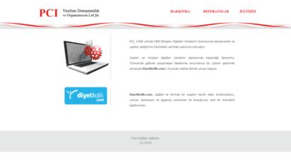 pci.com.tr - ana sayfa