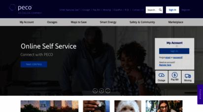 peco.com - moving smart energy forward  peco - an exelon company
