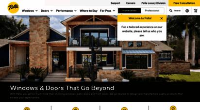 pella.com - pella windows and doors  pella