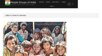 peoplegroupsindia.com - people groups of india - discovering every tribe, nation, language & people
