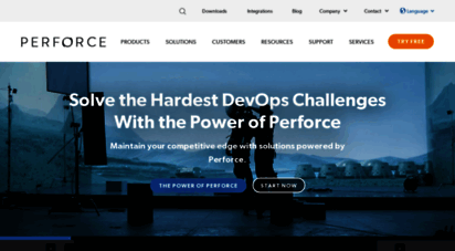 perforce.com - perforce software  development tools for innovation at scale